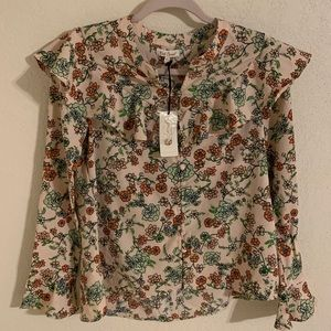 Red Camel Gypsy Breeze Floral Print Tunic